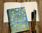 cherry blossom journal - inspire travel vacation journal gift by tremundo