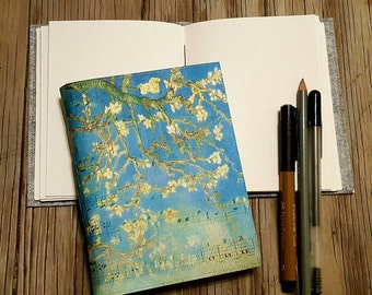cherry blossom journal - inspire travel vacation journal for holiday gift giving