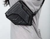 BLACK STEALTH Leather Shoulder Holsters  - Original Size -