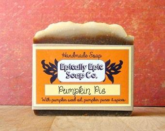 Pumpkin Pie Cold Process Soap - Vegan