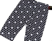 Bee Baby - Honeycomb - Black and White Pants - Geometric Pattern - Baby Pants - Baby Boy Pants - Baby Girl Pants - Nb - 3m - 6m - 12m- 18m