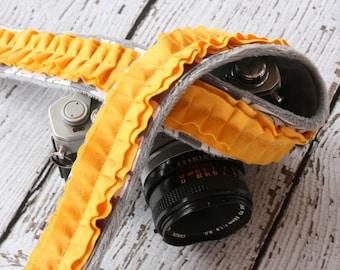 Camera Strap. Ruffle Camera Strap. dSLR Camera Strap. Cute Camera Strap. Padded Camera Strap. Custom Camera Strap. Camera Neck Strap