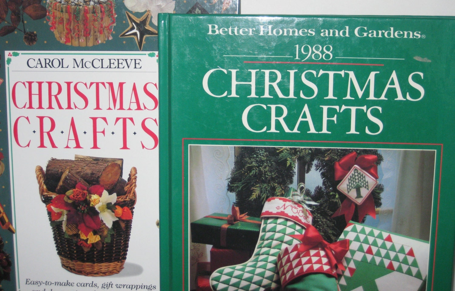Better Homes And Gardens Carol McCleeve Christmas Crafts 2
