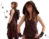 Akasha Vest - Hooded Faerie Waistcoat