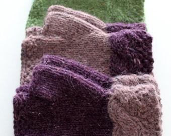 Mulberry Fingerless Gloves Knitting Pattern