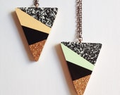 Triangle Necklace - 'Party' - 2 colours available