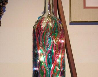 Sansevieria Lighted Bottle