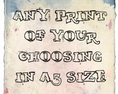 A3 Art print - Choose Your Own
