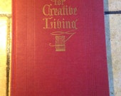 1935 Hymns for Creative Living Hymn Book