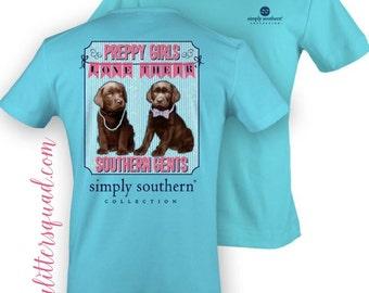 Simply Southern -  *Original* Preppy Girls Short Sleeve  Shirt