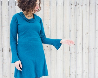 Twilight Dress - Hemp and Organic Cotton Knit - Made to Order - Choose Your Color