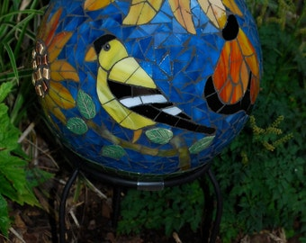 Garden Gazing Ball. Have one like this made for you!