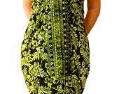 PLUS SIZE Clothing Hawaiian Sarong Dress or Skirt - Womens Plus Size Beach Sarong Pareo Wrap Skirt Swimsuit Cover Up Extra Long Batik Sarong