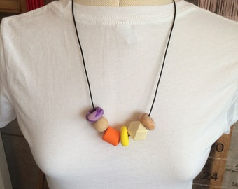 Hand-made Bead Necklace
