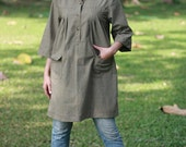SALE 15% + FREE SHIPPING--B199--With love With you (Blouse)