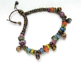 SALE BARGAIN BUNDLE - Poppet Ceramic Clay Bead Mix - Craft Jewelry Beads  No. 392