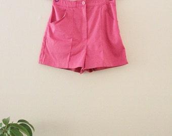 80's Pink Mini Shorts