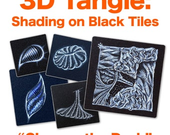 3D Tangle Glow on the Dark - Download PDF Tutorial Ebook