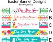Etsy Shop Banners - Etsy Banners - Easter Etsy Banners  - Etsy Shop Banners Selections - 1