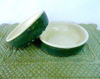HIS 'n' HERS BOWLS, Set of 2 , Wedding  present, Stoneware Bowls
