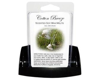 COTTON BREEZE Soy Melts // Wax Tarts // Soy Tarts // Candle Tarts // Melting Tarts // Scented Tarts // Dye Free