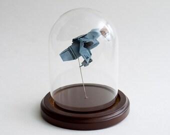 Origami starship Serenity small decorative globe