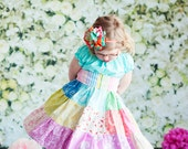 Spring pot of gold dress by Corinna Couture