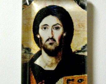 Portrait of Christ  pendant with chain - GP01-508