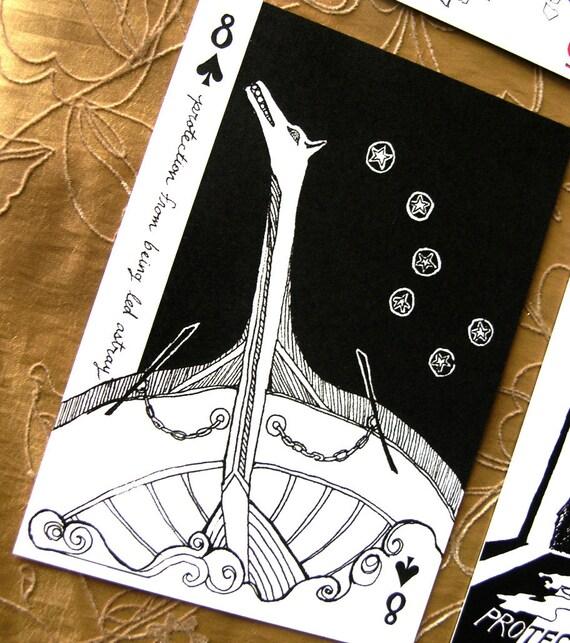 Led Astray Postcard * Portable Fortitude