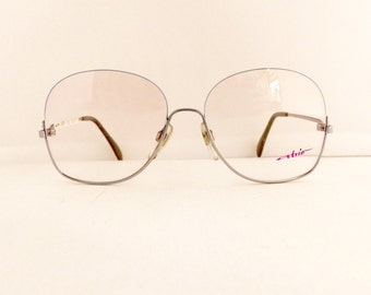 Atrio Eyeglasses Frames Women's 1970's/1980's Half Rim with Silver Frames Deadstock NOS #M353 DIVINE