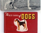 VINTAGE DOG BOOKS. from the 1930's and 40's