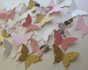 Beautiful Large Paper Butterflies 75 pc Weddings   Reception   Decorations