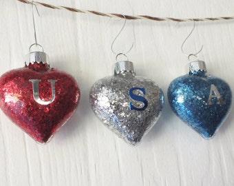USA Ornament Set