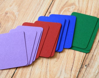 200pc INTENSE Colours Eco Series Business Card Blanks