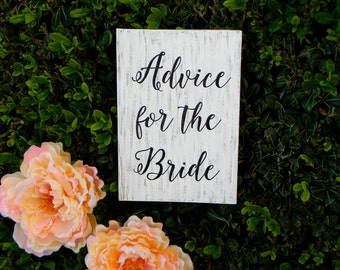 Advice For The Bride Guest Book Guestbook Notebook Shabby Chic Wedding Book Bridal Shower Guest Book Modern Black And White Guest Book