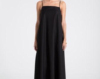 Maxi Dress / Long Dress / Strap Dress / Oversize Dress / Sleeveless Dress / Summer Dress / Casual Dress / Marcellamoda - MD0604
