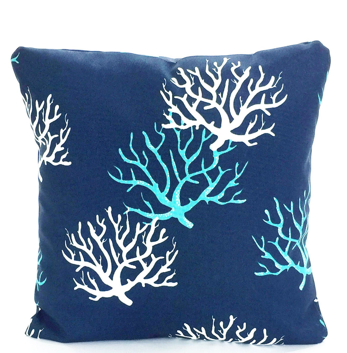 Nautical Coastal Throw Pillows : OUTDOOR Nautical Throw Pillow Covers Beach Decor Cushion