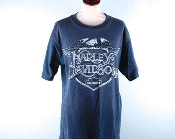 Harley Davidson Tee from A.D. Farrow in Columbus, Ohio - Polyester/Cotton Blend