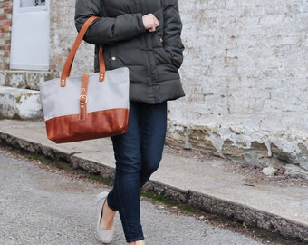 The Halsted Bag // Everyday Purse // Diaper Bag