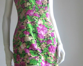 80s vintage spanish fitted dress