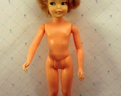 Tammy Pepper Doll No Freckles by Ideal P 9 W  1964 Honey Blonde Hair