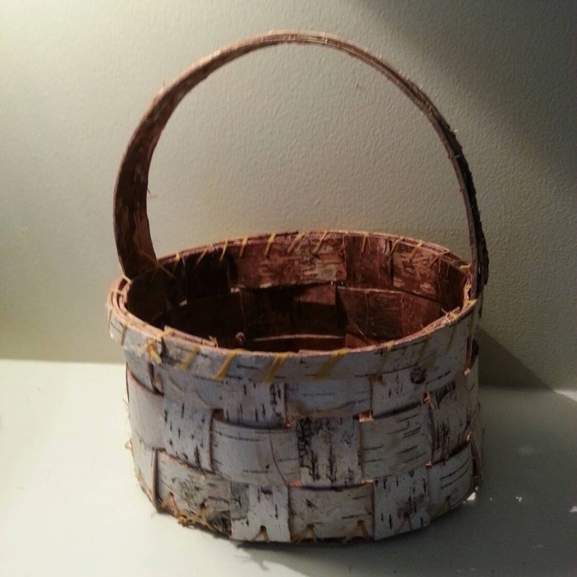 Basket Weaving Supplies Portland Oregon : Birch bark basket flower girl wedding supplies