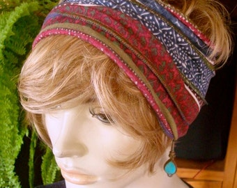 womens Headband extra Wide Headband Comfortable Yoga turband Alopecia soft knit