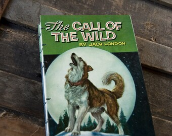 1960 CALL of the WILD Vintage Notebook Journal