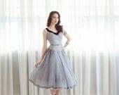 Vintage 1950s Gingham Dress - 50s Dress - Make it Right Dress
