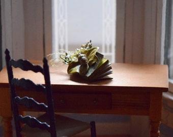 Teeny Tiny Miniature Woodland Faery Spell Book - Secrets of the Fae
