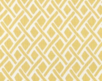 Tread Sunflower yellow lattice designer decorative pillow cover