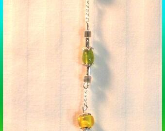 Rainbow Chakra Crystal Pendulum