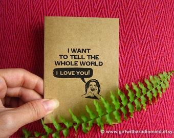 Funny Love Notebook 60 I Love You  - Funny Love Declaration Mini Pocket Journal - Humorous Anniversary Gift