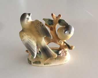 Bird Figurine porcelain Made in Japan By Gatormom13